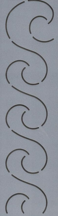 "Waves 1"" - The Stencil Company"