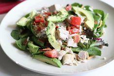Whole 30 and Paleo Turkey Avocado BLT Salad
