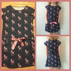 Patroon Candy dress, van La maison Victor (sweatstof)
