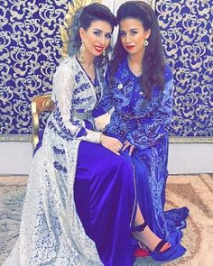 """1,186 Likes, 5 Comments - Fashion In Morocco 💙 (@fashion.in.morocco) on Instagram: """"@ablazemmama 🌙💙"""""""