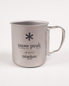 Titanium Double 450 Mug, Snow Peak