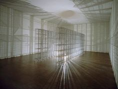 Mona Hatoum - Light Sentence © Centre Pompidou