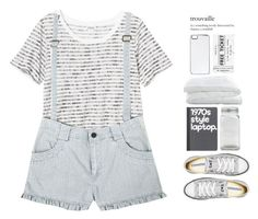 """""""120. trouvaille"""" by trxndsplash ❤ liked on Polyvore featuring Monki, Converse, Park Hill Collection, Crate and Barrel and Zero Gravity"""