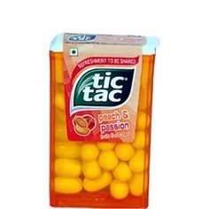 Tic Tac Peach and Passion Flavoured Net Weight Grams (Pack of Tic Tac Minions, Hard Candy Concealer, Hard Candy Primer, Candy Film, Hard Candy Glamoflauge, Hard Candy Molds, Hard Candy Recipes, Christmas Lyrics, Sweets