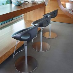 Modern bar stool, designed by Martin Ballendat and produced by Tonon an Italian leading furniture company. Belvisi kitchen and furniture provides wide range of Italian Furniture.