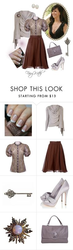"""Melinda Gordon - Ghost Whisperer"" by fairywitch on Polyvore featuring OPI, VPL, Dolce&Gabbana, Carolina Herrera, Karen Millen, Zanellato, women's clothing, women, female and woman"