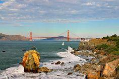 lands end San Francisco images   Date With Death on the Golden Gate Bridge