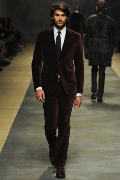 Hermes velvet suit