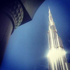 برج خليفة، دبي، الإمارات  Burj Khalifa, Dubai, UAE  By @Basma Alalawi