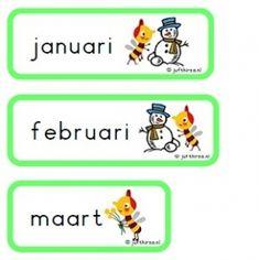 Dag- en maandkaartjes Zoem - Jufthirza.nl