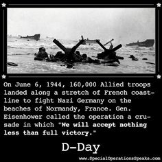 D Day... The Beaches Of Normandy