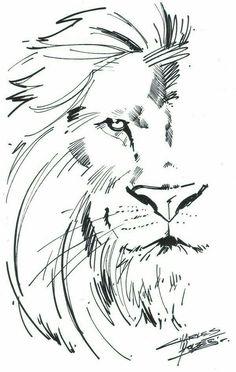 #lion #black&white #art