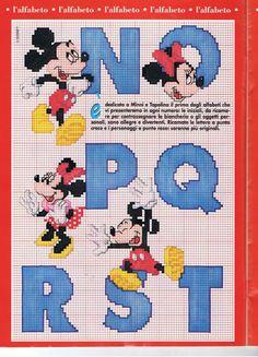 Alphabet Mickey 3
