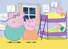 peppa pig bedroom living muddy dinosaurs puddles teddy