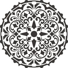Painting Stencil Bally Mandala – Walls Stencils, Plaster Stencils, Painting Stencils, Plaster Molds