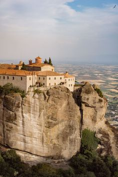 Meteora Monasteries - a photo series and visitor's guide Beautiful Places To Visit, Great Places, Greek Town, Greek Life, Belle Villa, Tourist Information, Top Travel Destinations, Photo Series, Travel Goals