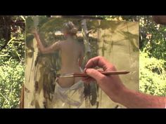 Jeremy Lipking: The Nude Outdoors Quick Clip - YouTube