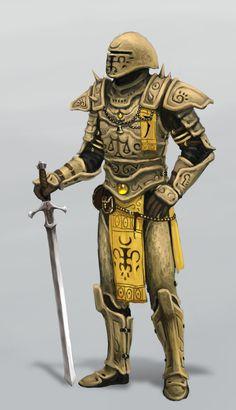 Hlaalu guard by Swietopelk