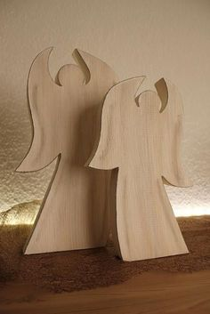 Tarlo - Creative for home and garden - Christmas - Wood Work Ideas & Most Popular Designs Christmas Wood Crafts, Christmas Angels, Christmas Projects, Christmas Crafts, Christmas Decorations, Christmas Ornaments, Christmas Christmas, Angel Crafts, Scroll Saw Patterns