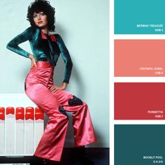 1971 | 16 Beautiful Color Palettes Inspired By Retro Fashion