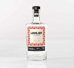 Lovejoy Vodka on Behance