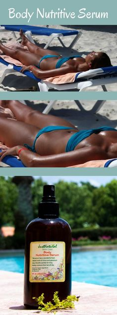 This mixture of 13 different types of oils may also  improve your skin's elasticity and neutralize skin  imbalances. This formula is the best nutritive  support for tanning proposes.