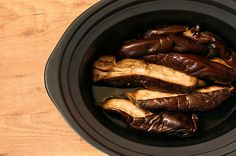 Crockpotting: Receta de baba ganoush en Crock Pot o slow cooker.