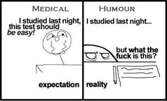 Difference between Expectation and Reality!