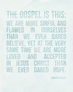 the gospel is this free printable | elm street life.