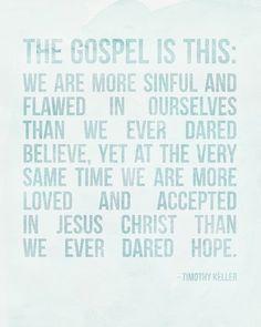 the gospel is this free printable | elm street life.
