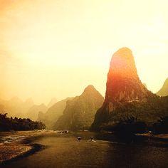 Río Li #china #travel