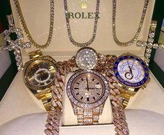 luxury, rolex, and diamonds image Cute Jewelry, Body Jewelry, Jewelry Accessories, Luxury Watches, Rolex Watches, Bling, Luxury Jewelry, Michael Kors Watch, Bracelet Watch