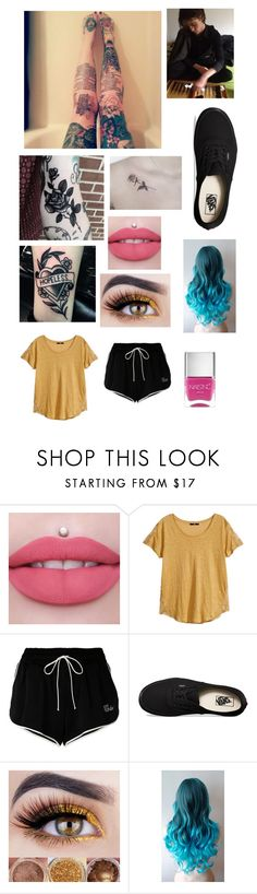 """""""california dreamin'"""" by mrsromangodfrey ❤ liked on Polyvore featuring H&M, Off-White, Vans and Nails Inc."""