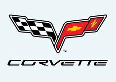 corvette logo clip art | Corvette C6