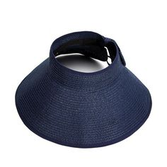 186979d5656 Womens Lady Foldable Bowknot Empty Top Wide Brim Beach Sun Straw Hat  Outdoor Gardening Summer Cap