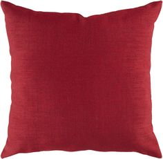 "Storm 18"""" Outdoor Pillow in Rust design by Surya"