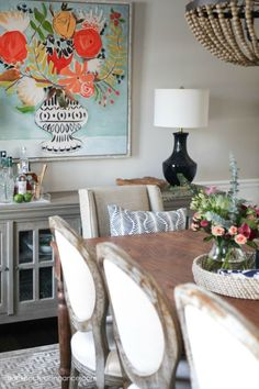 Check out this amazing dining room transformation!   #diningroom #roommakeover #homedecor