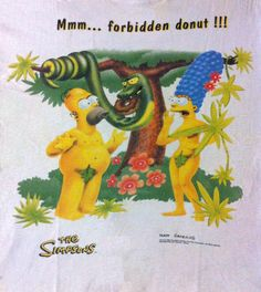 The Simpsons In The Garden Of Eden Sapo V Deos The Simpsons Pinterest
