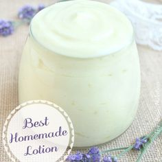 I've loved soft and flowery scented lotions every since my first encounter with Country Apple and Sun Ripened Raspberry. Does anyone else remember those? Ah…the good ole days. Except that I never knew to question what I was slathering all over my... #cream #diy #homemade