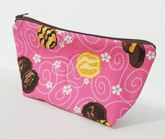 Girl Scout Cookies Zippered Pouch by PiecefulDesign on Etsy, $8.00