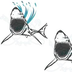 Check out this Great White digital clip art design. All clip art & papers by SBAD are available for your personal/commercial crafting projects like Digitizing Embroidery, Appliqué, Scrapbooking, Digital Stamping, Vinyl Designs and more.