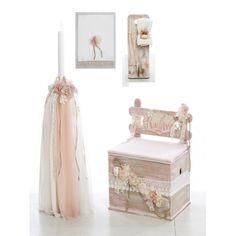 """Βαπτιστικό σετ """"Λουλούδια"""" ολοκληρωμένο-οικονομικό με ξύλινο κουτί, λαδόπανα, λαδοσέτ (μπουκαλάκι και σαπουνάκι) και κεράκια, Σετ βάπτισης κορίτσι """"Λουλούδια"""" τιμές-προσφορά, Βάπτιση κορίτσι με θέμα """"Λουλούδια"""" Decorative Boxes, Home Decor, Decoration Home, Room Decor, Home Interior Design, Decorative Storage Boxes, Home Decoration, Interior Design"""
