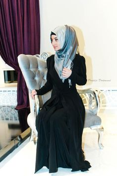 Hijab and Abaya <3 MashaAllah!