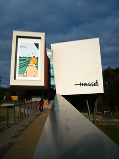 Herge Museum, Belgium. I'd like to visit it!