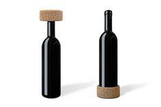 VINO Wine Coaster and Cork by Studio Macura