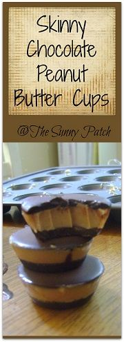 S Dessert -Trim Healthy Mama Skinny Chocolate Peanut Butter Cups. Add a dash or two of salt to the peanut butter filling. My goodness it is wonderful, if you like Reeses peanut butter cups! Thm Recipes, Dessert Recipes, Cooking Recipes, Healthy Recipes, Cooking Bacon, Candy Recipes, Chocolate Peanut Butter Cups, Peanut Butter Filling, Lindt Chocolate