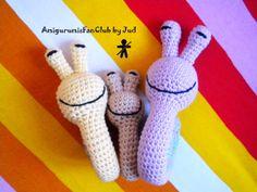 AmigurumisFanClub, ...snail family!!!