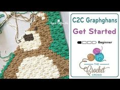 Color Change on a C2C Crochet Graphgan - YouTube