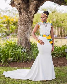 African Wedding Theme, African Print Wedding Dress, African Wedding Attire, Western Wedding Dresses, African Print Dresses, African Print Fashion, African Attire, African Fashion Dresses, African Dress