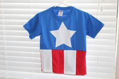 Captain America Costume... Year round cute!